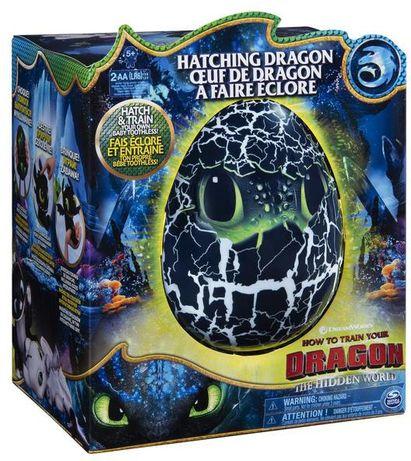 Как приручить дракона 3 интерактивный Беззубик в яйце