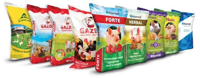 Комбикорм Gazda и Домашний корм для птицы свиней кролей опт и розница
