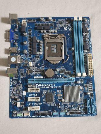 Материнская плата Gigabyte GA-H61M-S2-B3 - LGA 1155 / 16GB DDR3