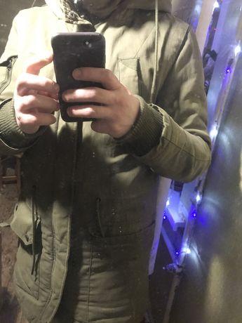 Куртка/парка бершка,bershka