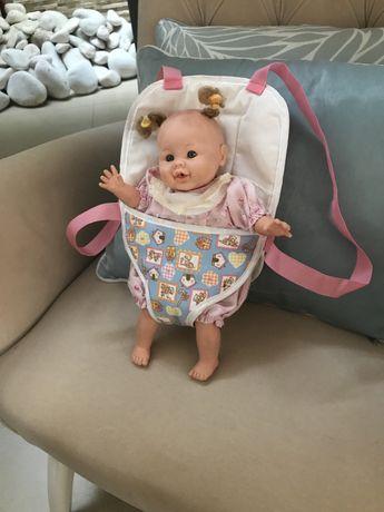 Mochila bebe nova