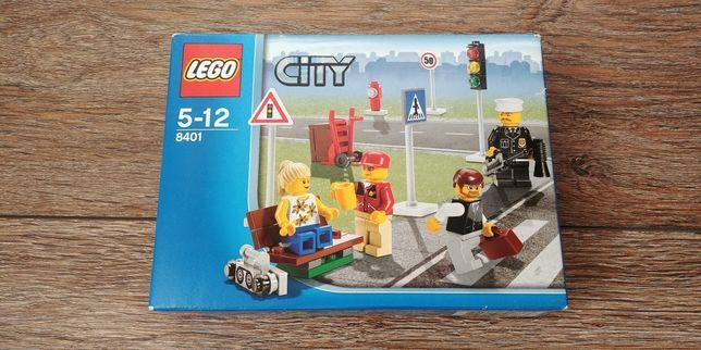 Zestaw klocków lego city 8401 UNIKAT