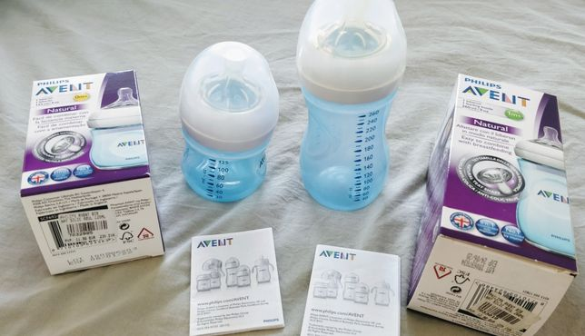 1 biberao Philips Avent natural 0+ 125ml - ÓPTIMO ESTADO