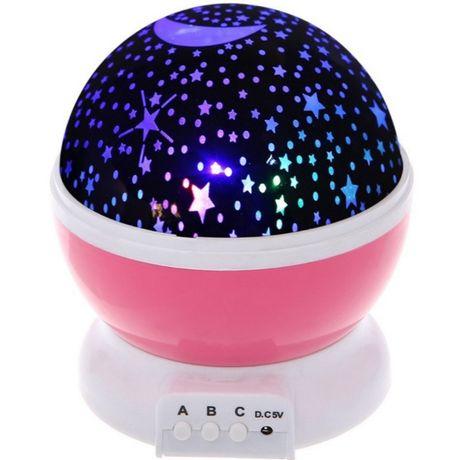 Ночник-проектор звездного неба Star Master Отличный подарок для детей