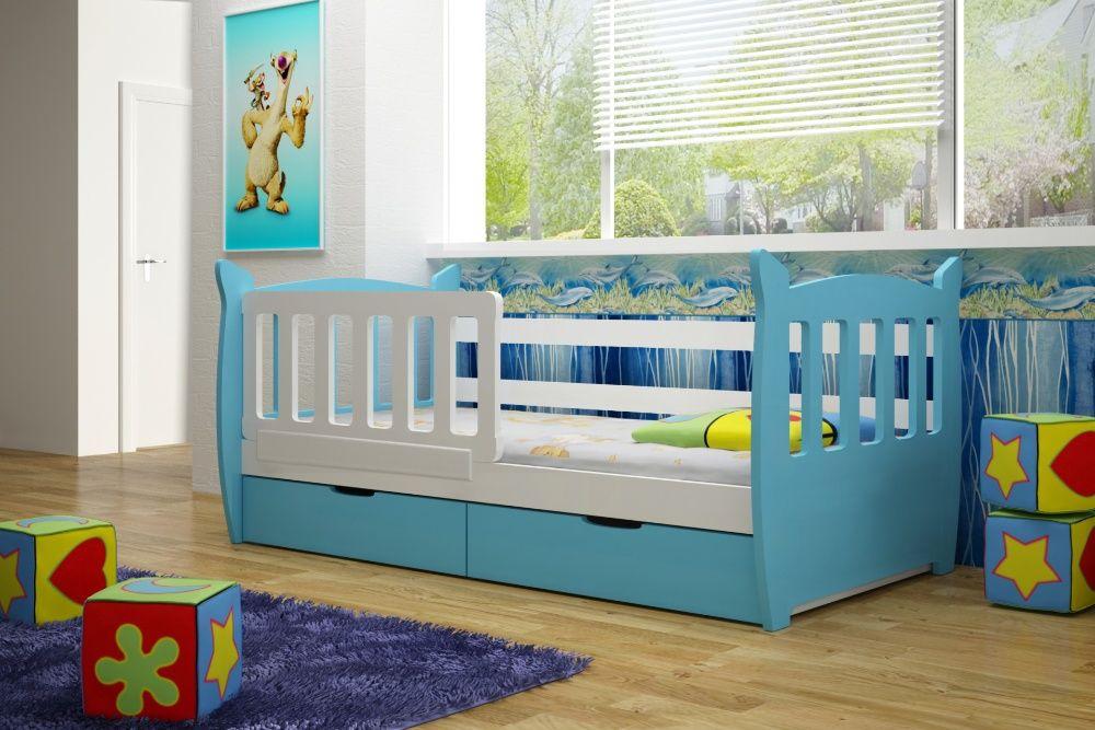 Łóżko dziecięce Miky dostępne w 6 kolorach!