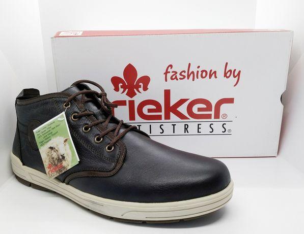 Кожаные теплые удобные зимние ботинки Rieker Antistress 40-45 оригинал