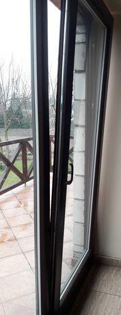 Okno tarasowe-balkonowe
