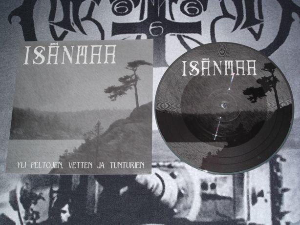 Isänmaa. Yli Peltojen... /EP picturedisk Impaled Nazarene Black Metal