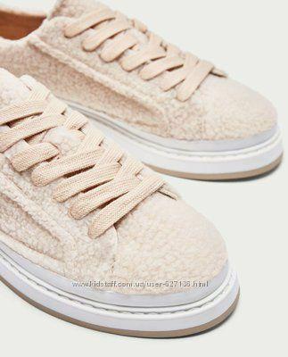 Крутые кроссовки барашки от Zara