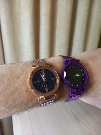 Часы женские наручные на магните новые жіночі часи