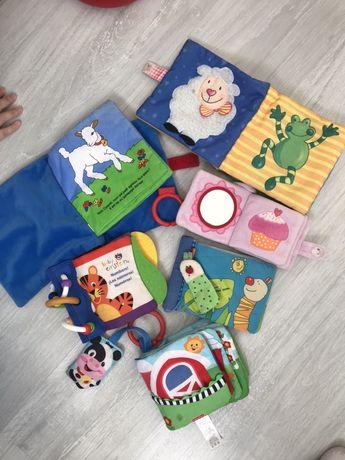 Развивающие книжки для малышей и маторики