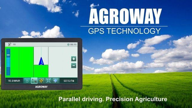 Агронавигатор Agroway 380 Smart Параллельное вождение GPS трактор