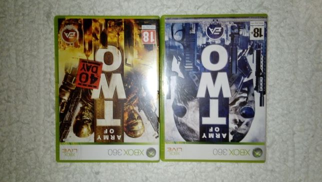 Army of two, Army of two 40 day, Xbox 360