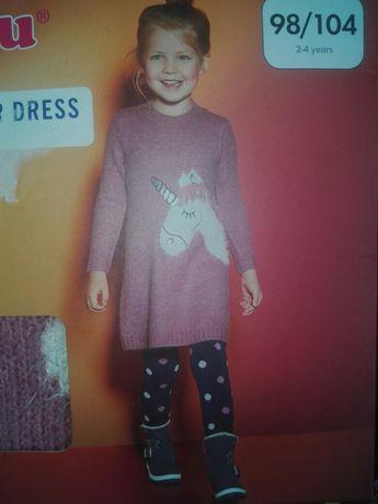 Lupilu sukienka z jednorozcem 98/104