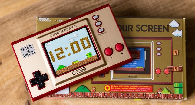 Nintendo - Game&Watch Super Mario Bros