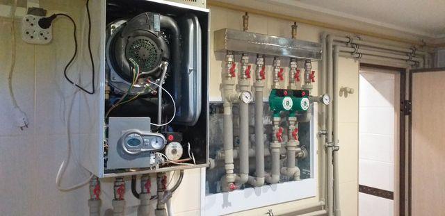 Монтаж установка ремонт замена газовых котлов колонок бойлеров.Сварка.
