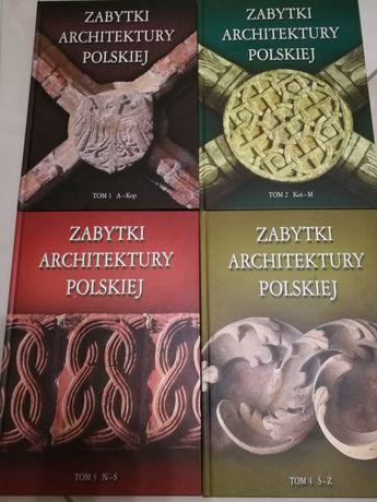 Książki Zabytki Architektury Polskiej