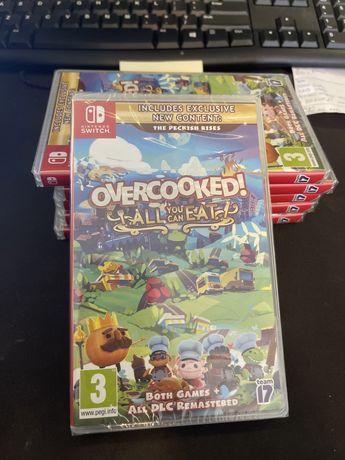 OverCooked Jesz Ile Chcesz Gra Nintendo Switch NOWA