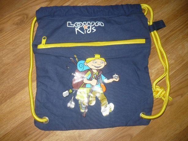 Рюкзак детский Можно для сменки сиий