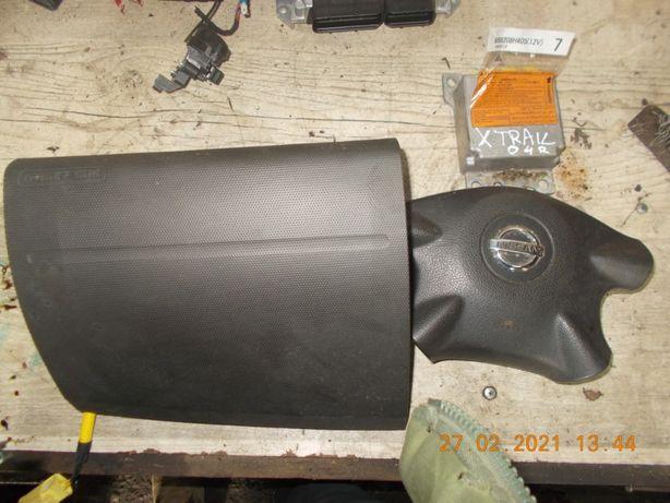 Komplet poduszek powietrznych air bag nissan x-trail