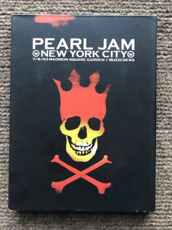 DVD Pearl Jam  Live at the Garden New York City
