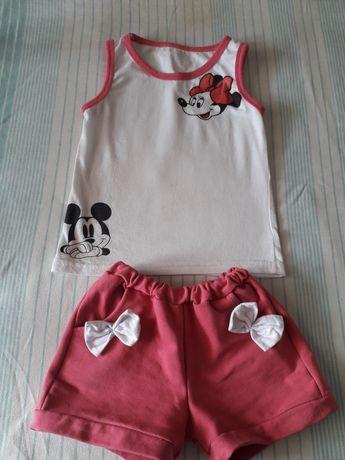 Летние костюмы юбка лосины на девочку