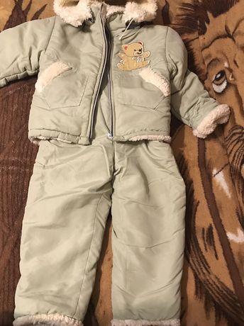 Продам костюмчик зимовий від 3р до 5р.