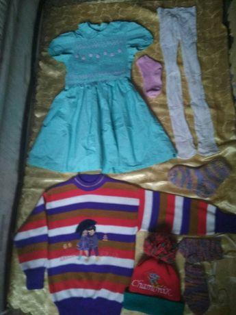 пакет Детских вещей  на 5-7 лет/Детская одежда для девочки/ !