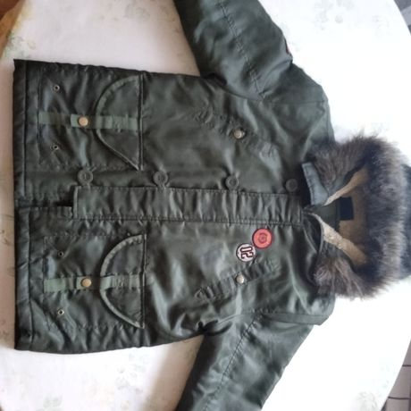 Детские зимние куртки.