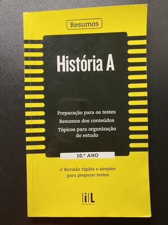 Livro de Resumos História A