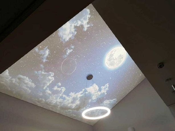 Уникальные Бесщелевые натяжные потолки - идеальный потолок