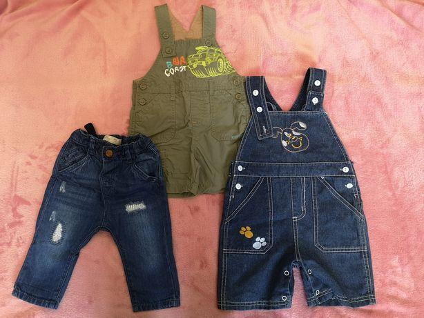 Paka spodni chłopięcych (Zara, baby Club i inne)