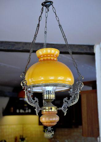 lampa żyrandol retro