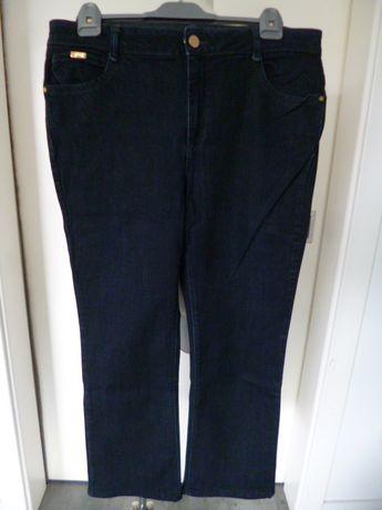 M&S bardzo fajne jeansy, spodnie rozm. - XL - pas - 102 cm -