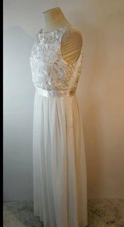 Suknia ślubna nowa z metką. Suknia do ślubu. Biała sukienka z koronką