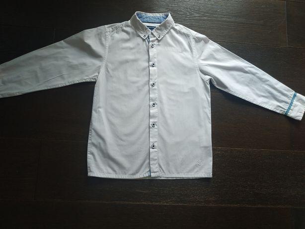 Biała koszula Cool Club 134 jak nowa