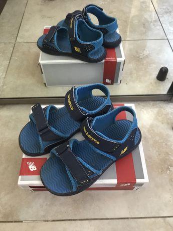 Sandaly new balance niebieskie r.33
