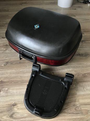Kufer Moto Detail duży zadbany z płytą ( nie GIVI )