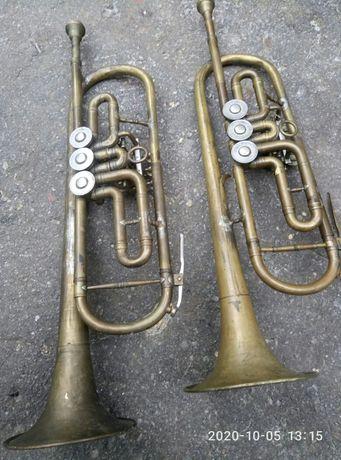 Труба музыкальная, духовая, Си бемоль