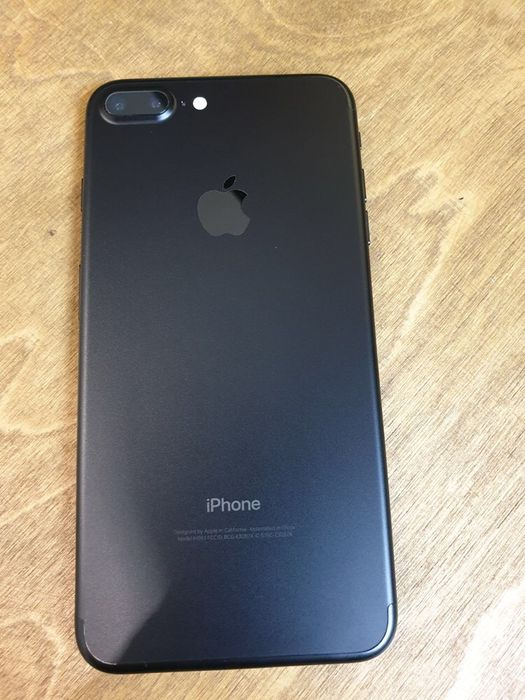 IPhone 7 Plus 128 Black neverlock Гарантия до 12 мес Идеал Оригинал Харків - зображення 1