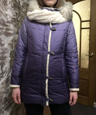Зимняя термо-куртка Lenne. + хомут. 158-164