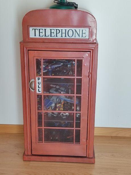 Armário Cabine Telefone Inglesa