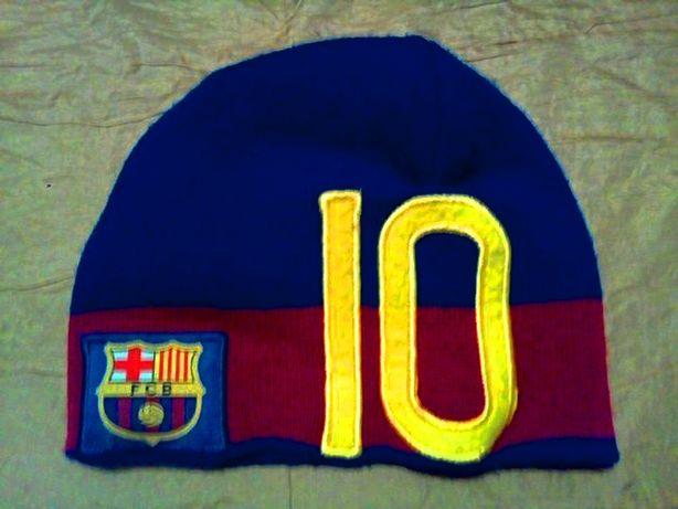 Зимняя тёплая шапка Barcelona Moncler