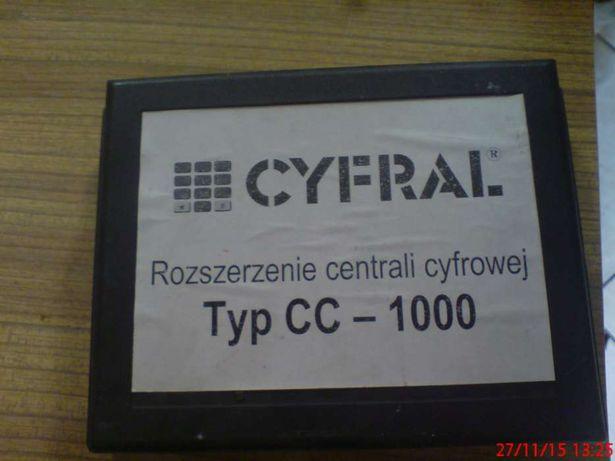 Cyfral rozszerzenie centrali cyfrowej cc 1000