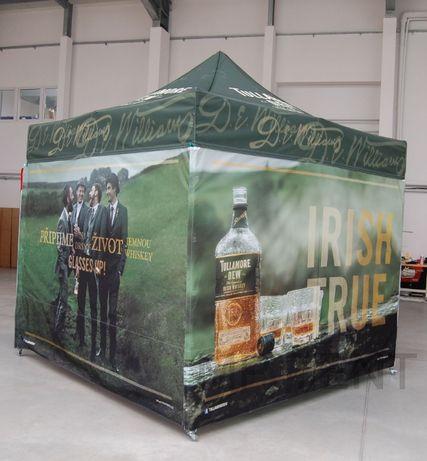 Namiot ekspresowy, reklamowy 3x6m z nadrukiem - stelaż alu premium