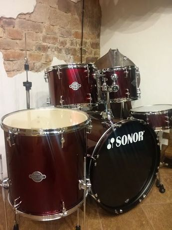 Promocja! nowa perkusja Sonor SMF11 Smart Force Stage 1 cherry red