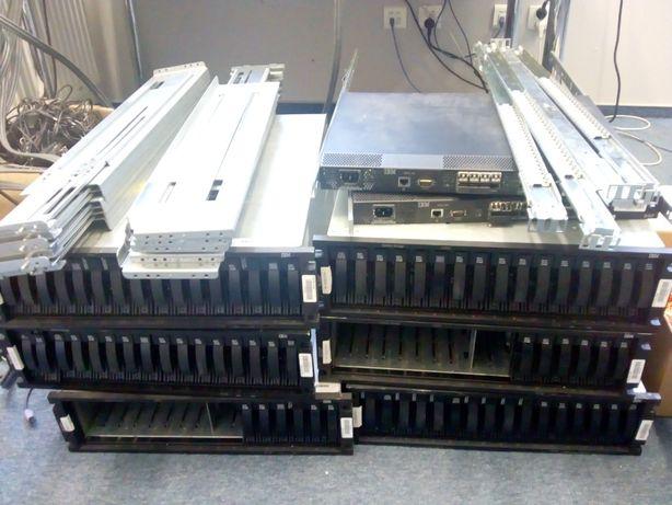 Macierz dyskowa IBM DS-4700 z osprzętem - likwidacja firmy / OKAZJA !