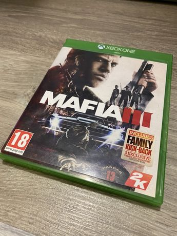 Mafia 3 III, Dishonored 2 игры для xbox one s x