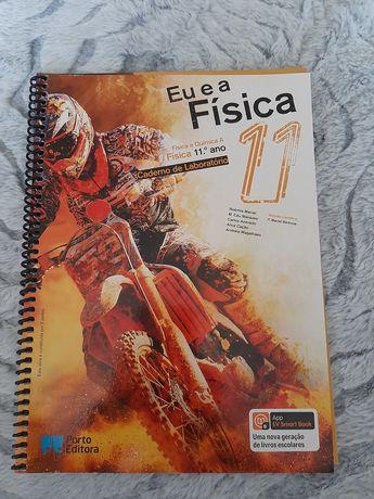 Manual e caderno de laboratório- Eu e a fisica- 11 ano