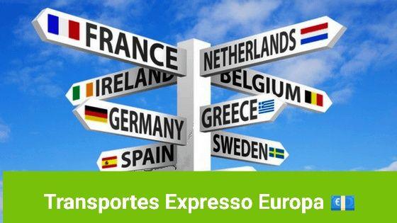 Transportes Expresso em toda Europa